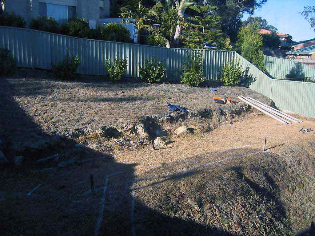 Before-residential-landscape-construction-cherrybrook