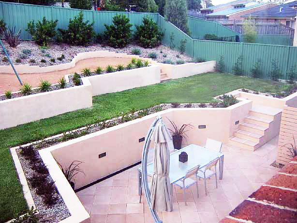 Residential-landscape-construction-after-Cherrybrook